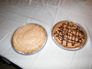 Chocolate Amaretto Pies
