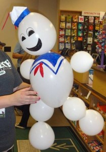 Balloon Stay Puft Marshmallow Man